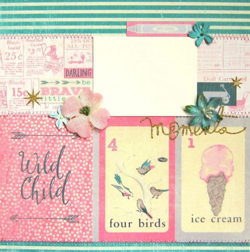 Darling Girl Mini Album with E-Z Runner Grand Dispenser