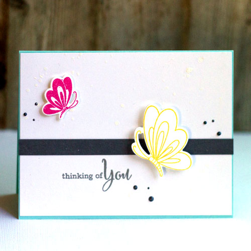 AJ Otto - Thinking of You card