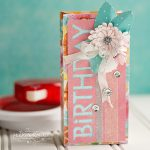 Birthday Box tutorial by Michele Kovack for Scrapbook Adhesives by 3L