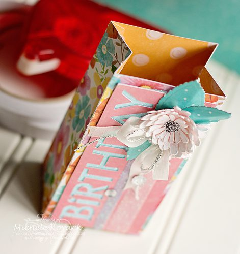 Birthday Box by Michele Kovack for Scrapbook Adhesives by 3L