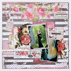 Big Dimension on Scrapbook Pages by Tracy McLennon