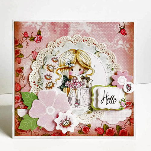 Hello Card by Erica Houghton