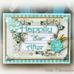 Happily Ever After Wedding Card by Vicki Chrisman