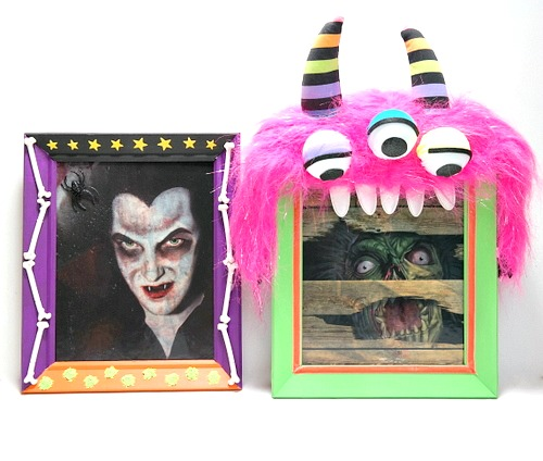DIY Halloween Monster Frames by Dana Tatar for Scrapbook Adhesives by 3L