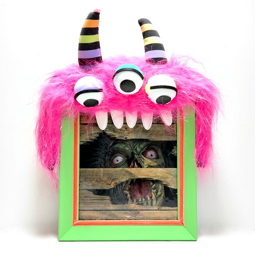 Halloween Monster Frame by Dana Tatar for Scrapbook Adhesives by 3L