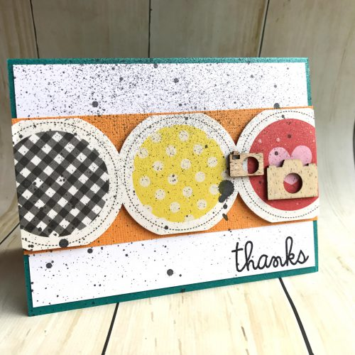Thank You Card using Crafty Foam Tape by Latrice Murphy for Scrapbook Adhesives by 3L