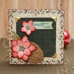 Pinecone Embellishments with Creative Photo Corners by Tracy McLennon