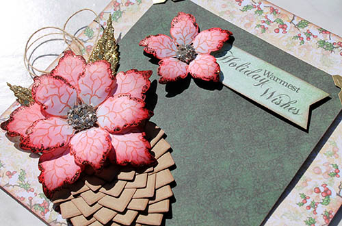 Create a Pinecone Frame with Creative Photo Corners by Tracy McLennon for Scrapbook Adhesives by 3L