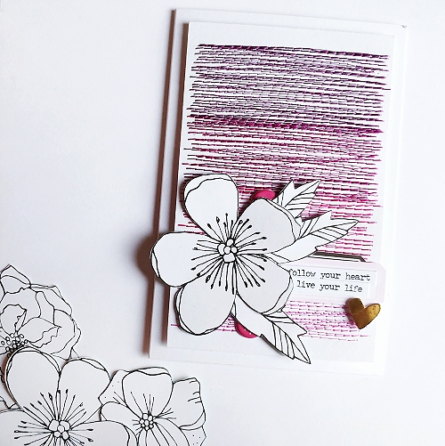Stitched Cards | Foam Tape & 3D Foam Squares by Jana Maiwald-McCarthy