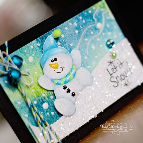 Snowmen cards by Michele Kovack