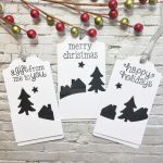 Festive Snow Scene Tag Tutorial