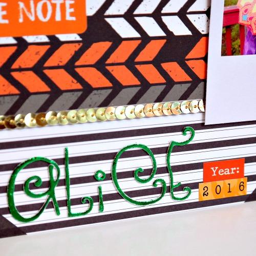 DIY-3D-Foam-Green-Foil-Letters-by-Dana-Tatar