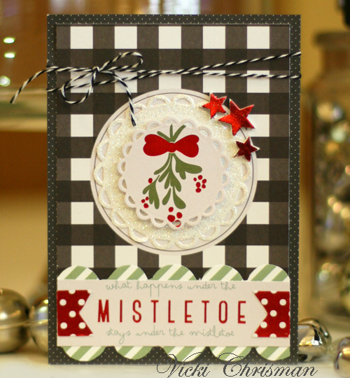 Die-cutting with Adhesive Sheets by Vicki Chrisman