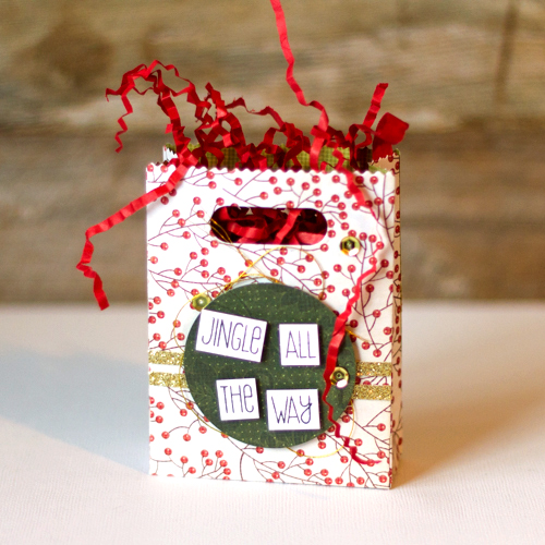 Jingle All The Way Gift Box by AJ Otto
