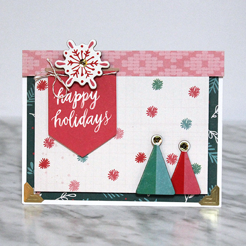 Christmas Card w/dimension by Tracy McLennon