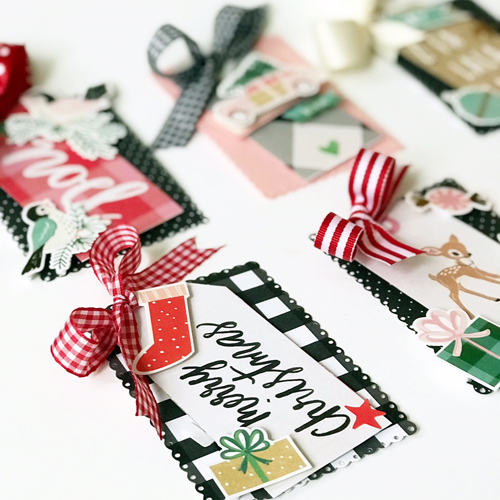 Layered Christmas Tag Tutorial by Latisha Yoast for Scrapbook Adhesives by 3L