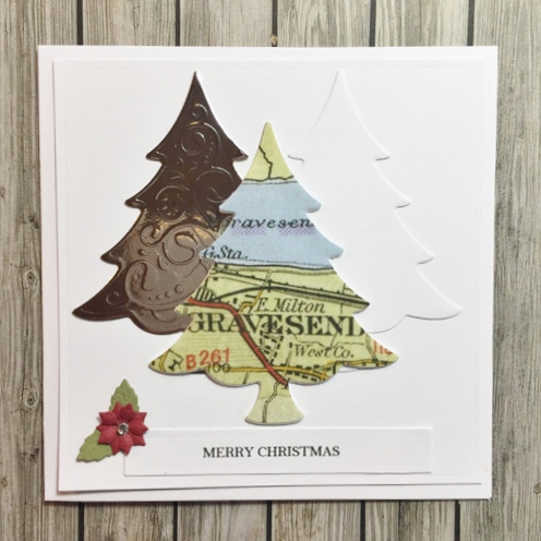 Sending a Piece of Home in Christmas Cards by Christine Emberson for Scrapbook Adhesives by 3L