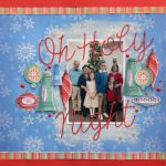 Christmas Layout with subtle embellishing using Adhesive Dots from Scrapbook Adhesives by 3L