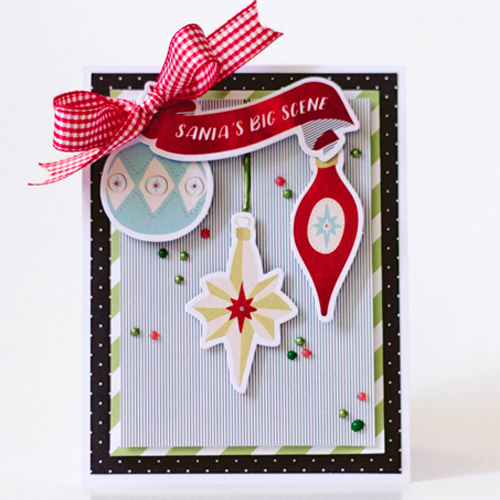 Holiday Card using Die Cuts by Latisha Yoast for Scrapbook Adhesives by 3L