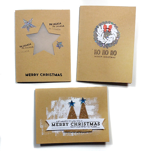 Trio of Christmas Card Creations & Tutorial by Jana Maiwald McCarthy