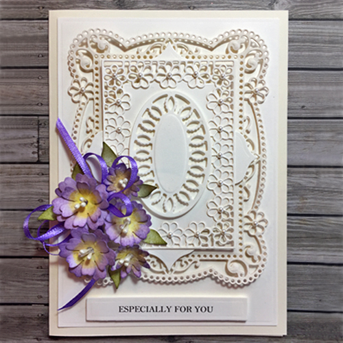 Thinking of Spring in Delicate Layers by Christine Emberson for Scrapbook Adhesives by 3L