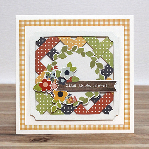 Spring-Inspired Lattice Card by Tracy McLennon for Scrapbook Adhesives by 3L