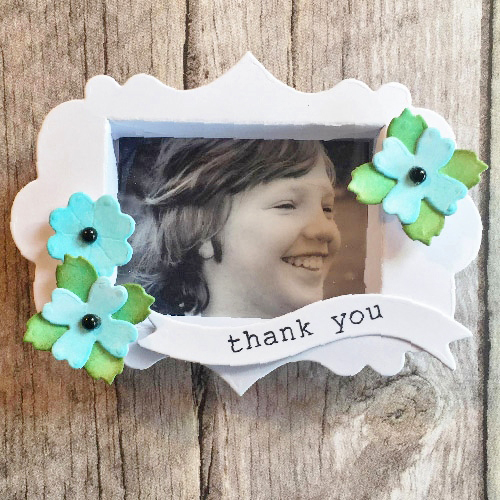 Spring Inspired DIY Shadow Box by Christine Emberson for Scrapbook Adhesives by 3L