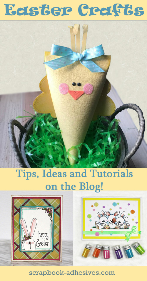 DIY Easter Crafts on Parade by Scrapbook Adhesives by 3L Pinterest
