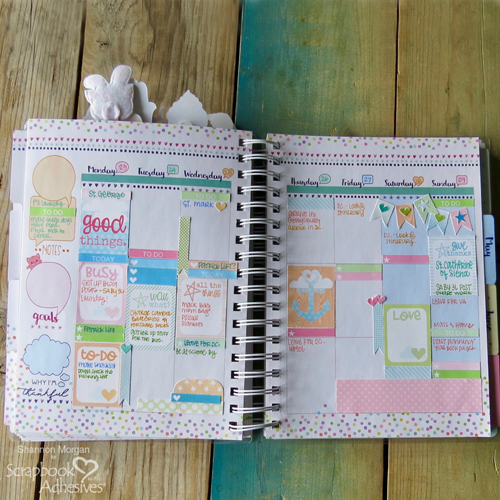 DIY Planner Stickers by Shannon Morgan for Scrapbook Adhesives by 3L