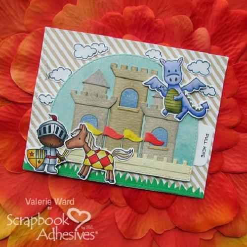 Knight Slider card by Valerie Ward