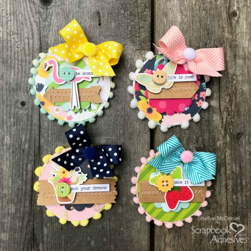 Paper Embellishment Bits by Shellye McDaniel for Scrapbook Adhesives by 3L