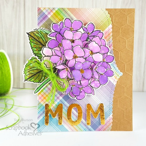 Mother's Day Card by Terri Burson for Scrapbook Adhesives by 3L