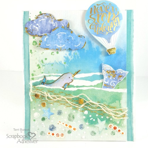 Shine with a Set of Cards by Terri Burson for Scrapbook Adhesives by 3L