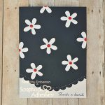 Daisy Card with 3D Foam Circles by Christine Emberson for Scrapbook Adhesives by 3L