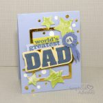 Dad Card with Foil by Christine Meyer