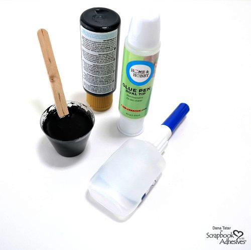 Scrapbook Adhesives by 3L Crafty Power Blog - Scrapbook