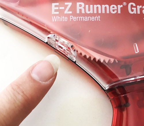 Refilling the E-Z Runner Grand by Yvonne van de Grijp for Scrapbook Adhesives by 3L