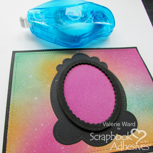 Halloween Shaker Card Tutorial by Valerie Ward for Scrapbook Adhesives by 3L