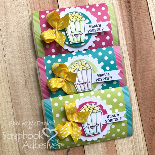 What's Poppin' Gifting Treats by Shellye McDaniel for Scrapbook Adhesives by 3L