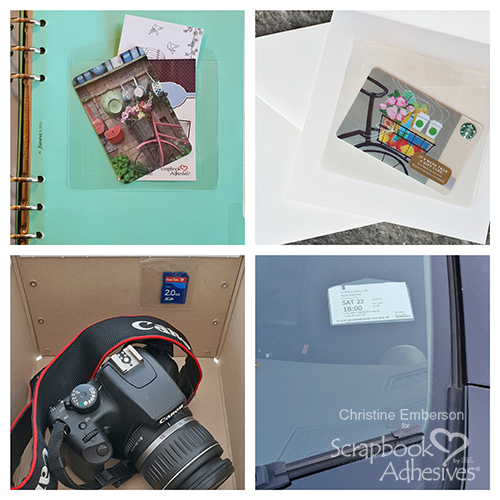 Keepsake Envelopes in Your Daily Life by Christine Emberson for Scrapbook Adhesives by 3L