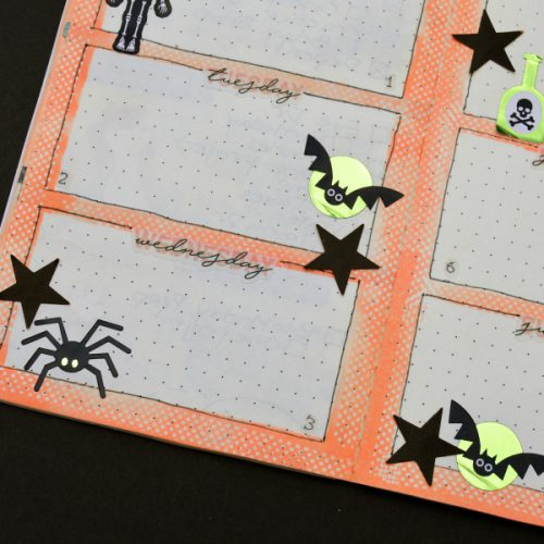 Repositionable Adhesives in a Bullet Journal by Christine Meyer for Scrapbook Adhesives by 3L