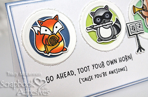 Cute Dimensional Critter Card Tutorial by Tracy McLennon for Scrapbook Adhesives by 3L