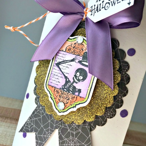Holiday Fun with Stampendous - Day 5 Fun Favor Box by Shellye McDaniel for Scrapbook Adhesives by 3L