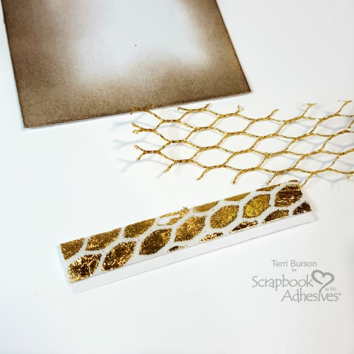 Create Foil Patterned Accents by Terri Burson for Scrapbook Adhesives by 3L