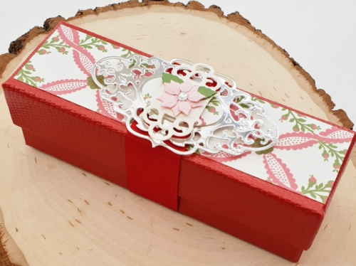 Upcycle a Gift Box Tutorial by Christine Emberson for Scrapbook Adhesives by 3L