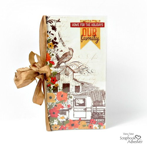 Thanksgiving Traveler's Notebook by Dana Tatar for Scrapbook Adhesives by 3L