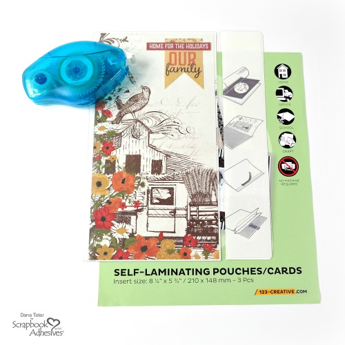 Thanksgiving Traveler's Notebook Cover in a Self-Laminating Pouch