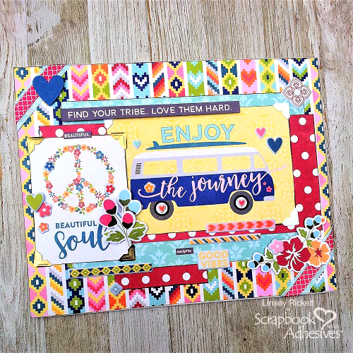 Creative Bohemian Vibe and Jillibean Soup by Linsey Rickett for Scrapbook Adhesives by 3L