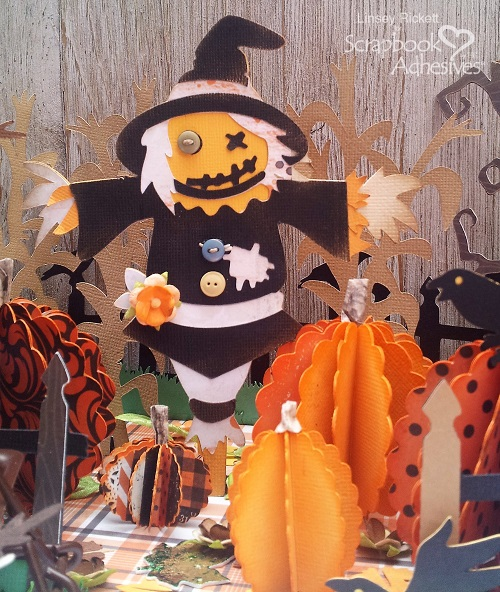 Happy Halloween Pumpkin Patch by Linsey Rickett for Scrapbook Adhesives by 3L