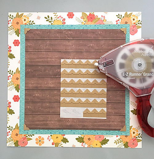 Memories Scrapbook Page with Jillibean Soup by Margie Higuchi for Scrapbook Adhesives by 3L